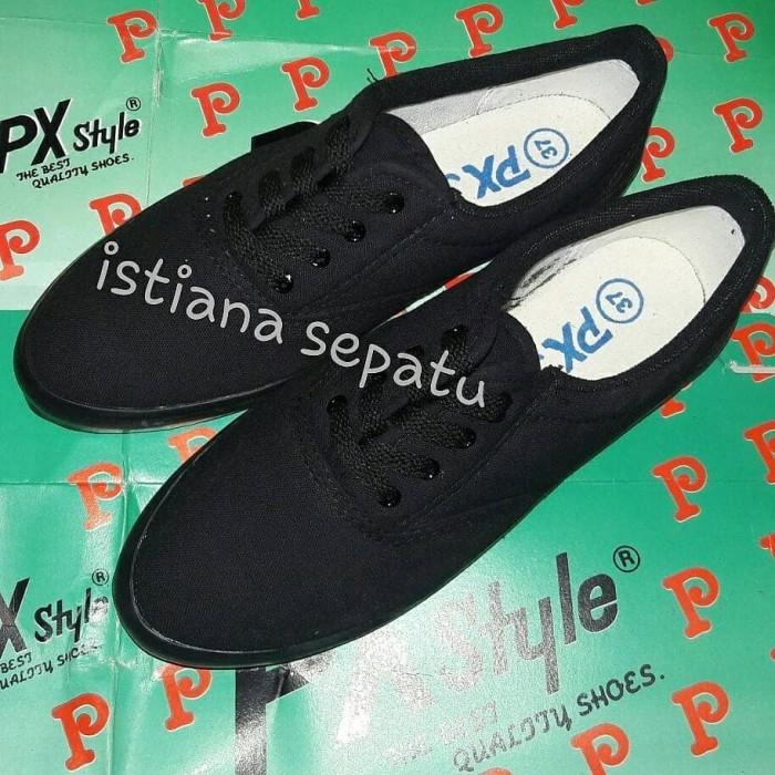 Sepatu Sekolah Px Style Hitam