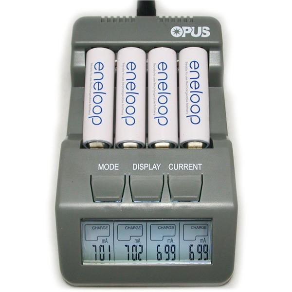 harga Charger opus bt-c700 discharge refresh with lcd (saingan powerex) Tokopedia.com