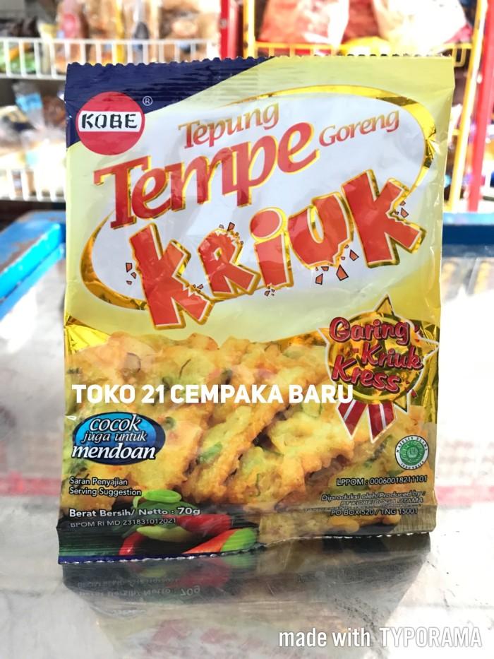 Jual Kobe Tepung Tempe Goreng Kriuk 70g Crispy Jadi Serbaguna Murah Promo Dki Jakarta Toko 21 Cempaka Baru Tokopedia