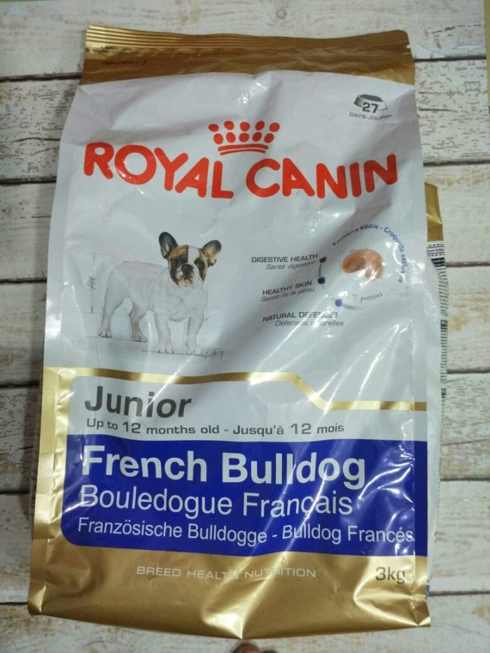 harga Royal canin french bulldog junior 3 kg - makanan anjing Tokopedia.com