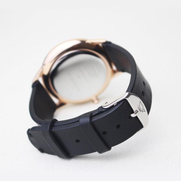 harga Ringlet - black ( leather watch strap . tali jam tangan kulit pria ) Tokopedia.com