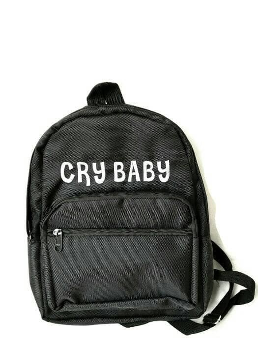 Tas custom crybaby/ tumblr/ransel mini