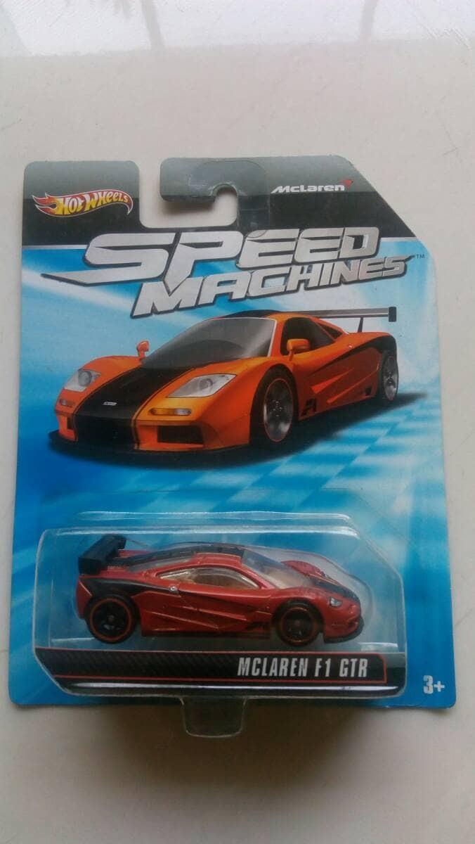 Jual Hotwheels Speed Machines Mclaren F1 Gtr Hw Hot Wheel Pmb Mc Laren