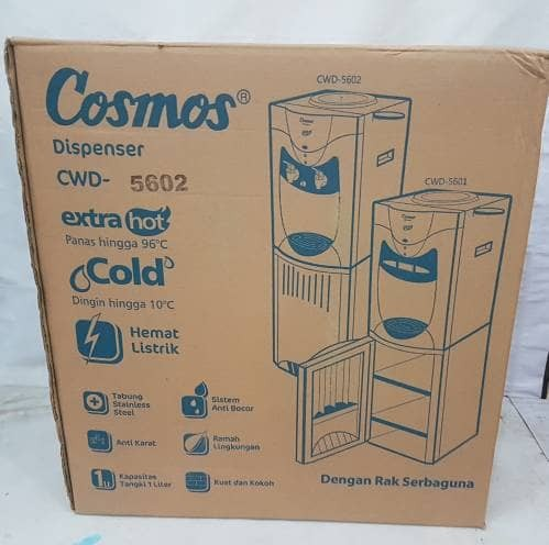 harga Cosmos Dispenser Berdiri Panas Dingin Cwd5602 /dispenser Hot N Cool Tokopedia.com