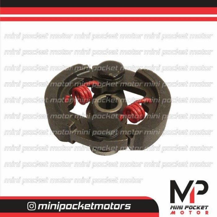 harga Kampas kopling / ganda racing per merah 2 motor mini gp / mini trail Tokopedia.com