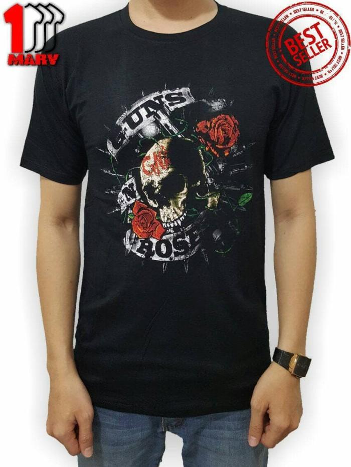 harga New Kaos Spandek Hitam Baju Spandex Distro Sablon 3d Guns N Rose Tokopedia.com
