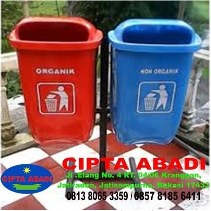 Jual Tong Sampah Tong Sampah Organik Non Organik Kab Bekasi Karya Cipta 143 Tokopedia
