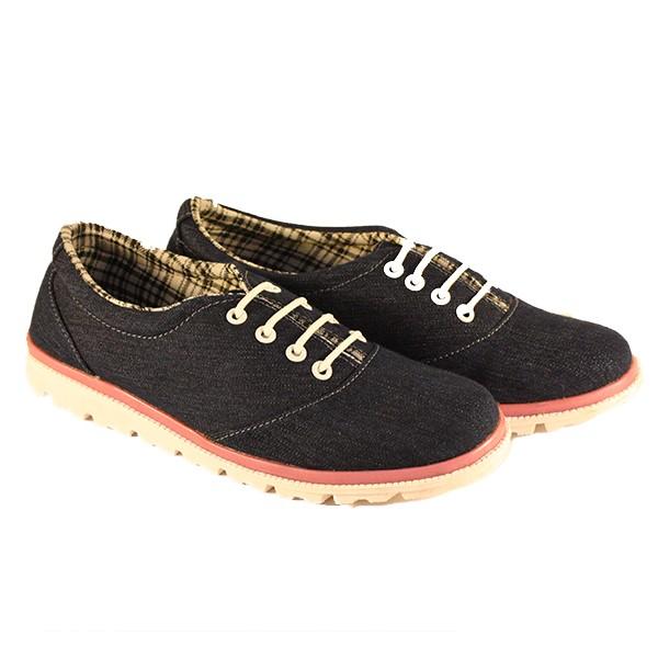 harga Dr. kevin women canvas sneaker 43176 - blue - biru 37 Tokopedia.com