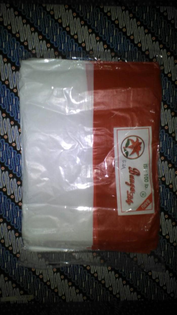 Jual Bendera Merah Putih Plastik 1 Pack Isi 100 Lembar Kab Batang Jaya Fashion