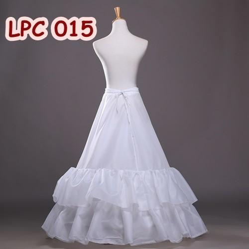 harga Bridal long petticoat - pengembang gaun pesta - tutu bridal - lpc 015 Tokopedia.com