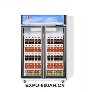 harga Gea expo-600ah/cn 2(dua) pintu showcase / display cooler / kulkas kaca Tokopedia.com