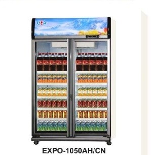 harga Expo-1050ah/cn 2(dua) pintu showcase / display cooler / kulkas kaca Tokopedia.com