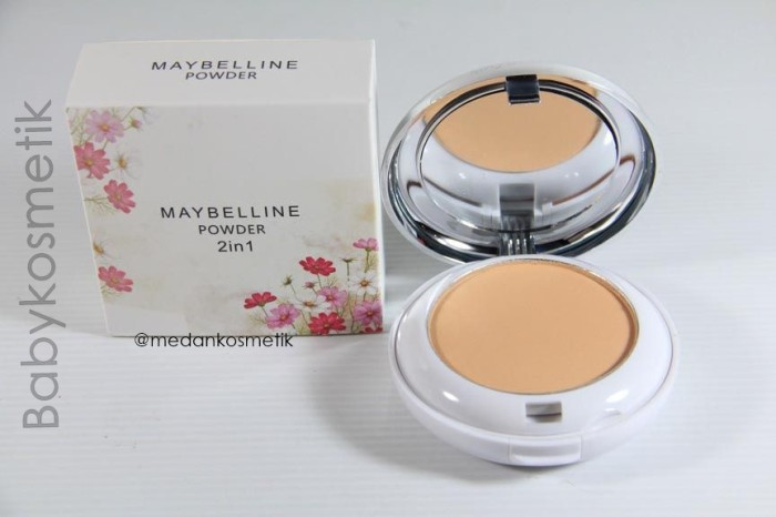 Bedak Maybelline Powder 2in1