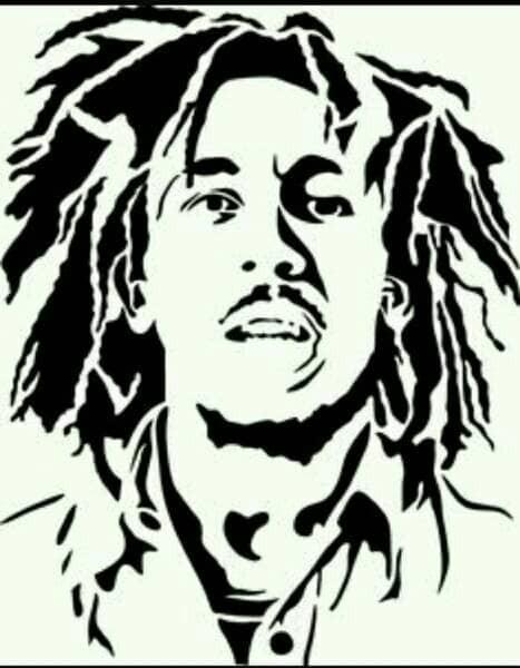 Jual Stencil Bob Marley Kab Bekasi Crooth Airbrush Tokopedia