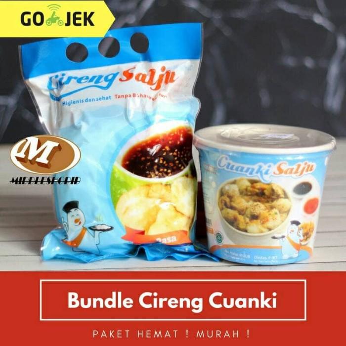 harga Paket hemat murah cireng salju plus cuanki instan mang bonju Tokopedia.com
