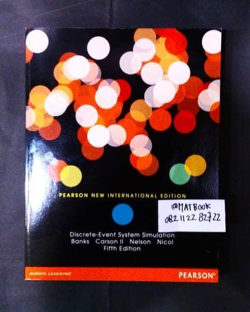 Discrete Event System Simulation Book