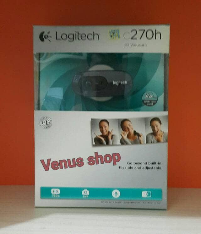 harga Logitech webcam c270h hd quality / camera c 270h hd 720p original Tokopedia.com