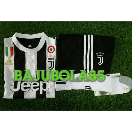harga Juventus home 2017 set (baju celana kaos kaki) Tokopedia.com