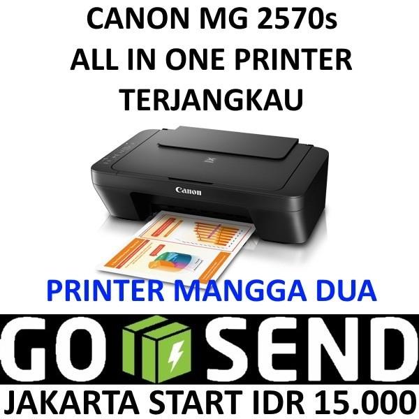 harga Canon mg2570s printer pixma mg 2570s all in one Tokopedia.com