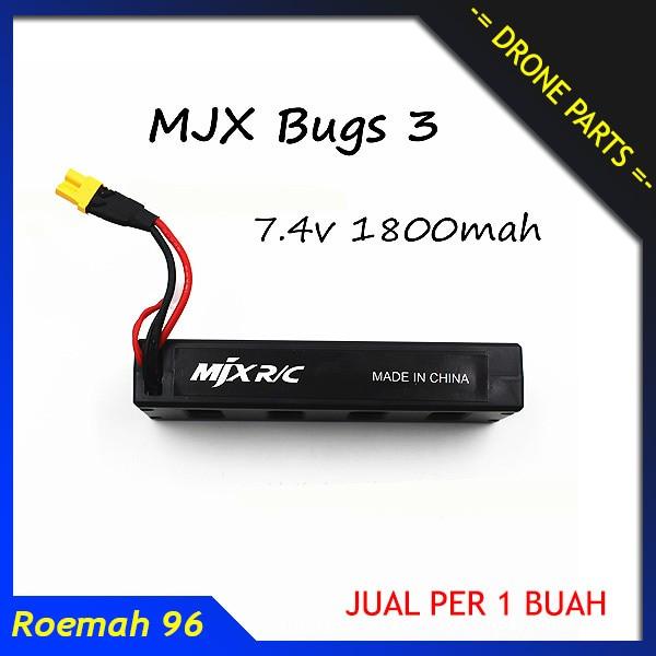 harga Drone battery mjx b3 bug | baterai quadcopter batere spare part Tokopedia.com