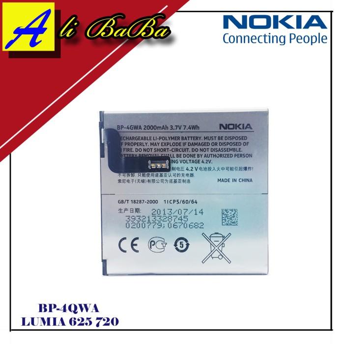 harga Baterai handphone nokia lumia bp-4gwa lumia 625 720 batre hp battery Tokopedia.com