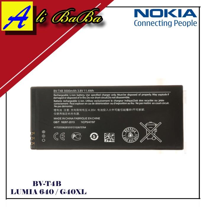 harga Baterai handphone nokia bv-t4b lumia 640xl batre hp batre nokia lumia Tokopedia.com