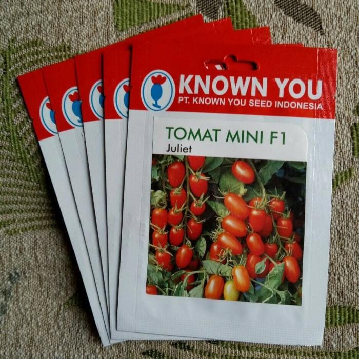 Foto Produk Benih Tomat Cherry Juliet, Known You Seed, original packing dari Simon Peter