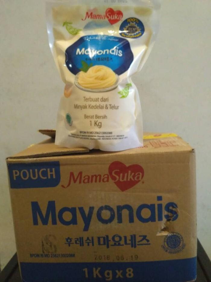 harga Mayonaise mamasuka 1 karton kemasan 1kg Tokopedia.com