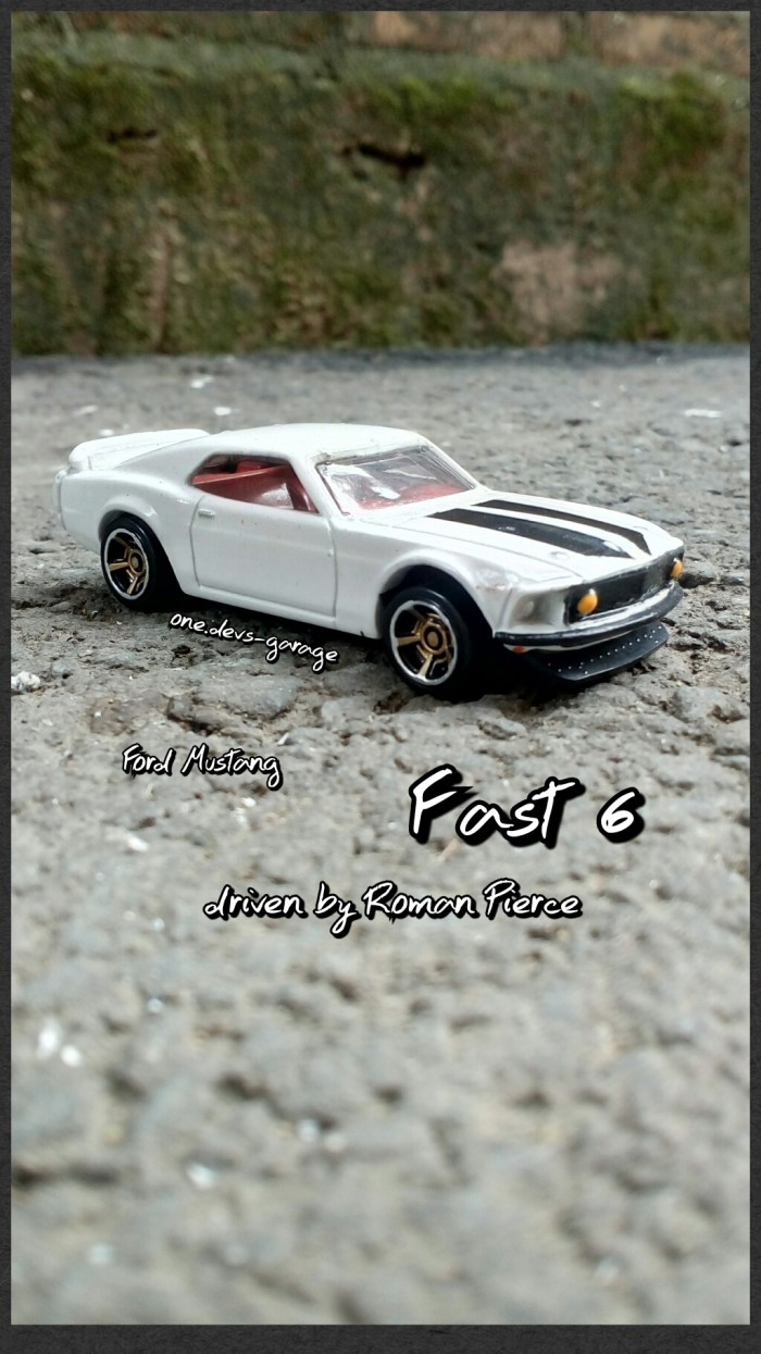 Hotwheels fast furious ford mustang loose harga