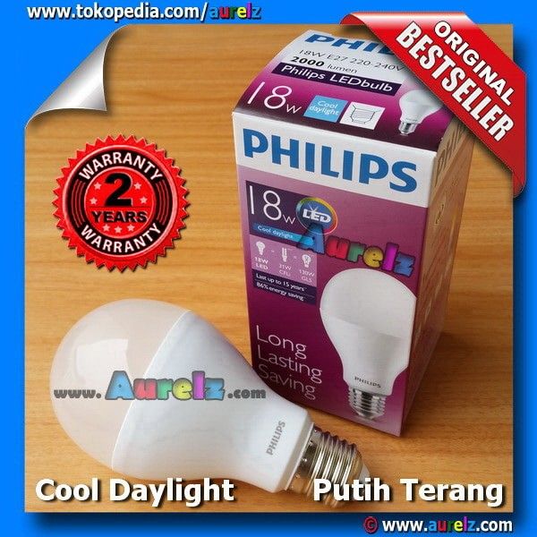 Lampu LED Philips 18 Watt COOL DAYLIGHT
