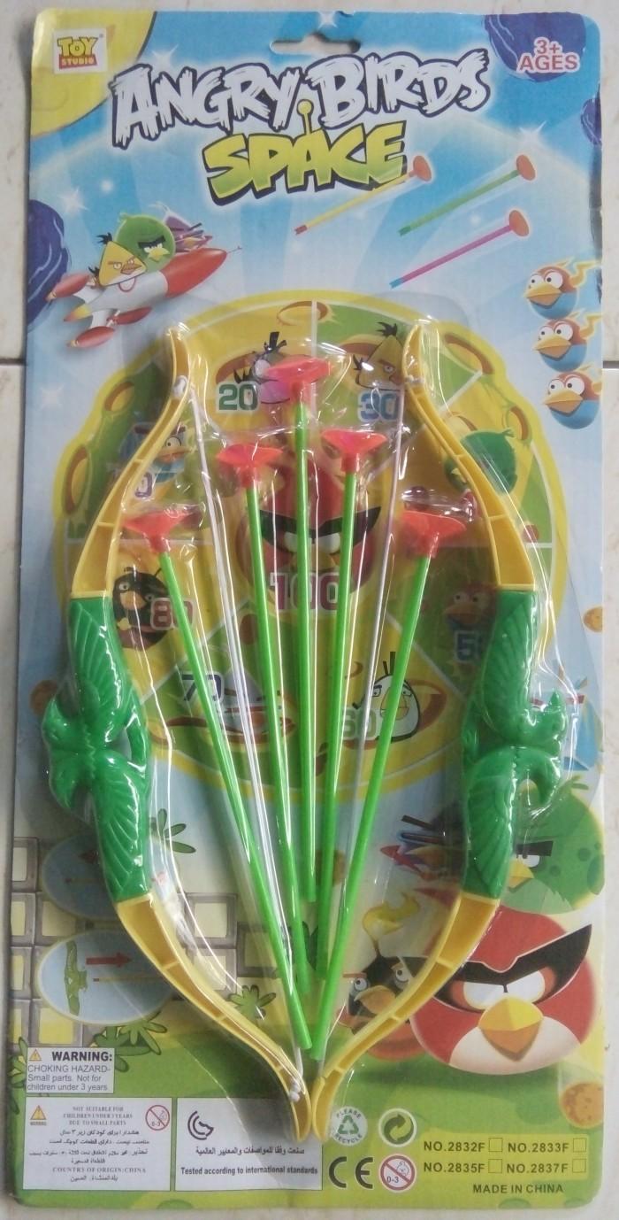 harga Double Set Mainan Busur Dan Anak Panah Angry Birds Tokopedia.com