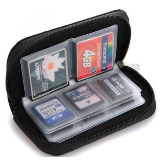 harga Memory card holder/ tas dompet penyimpanan memori card slot Tokopedia.com