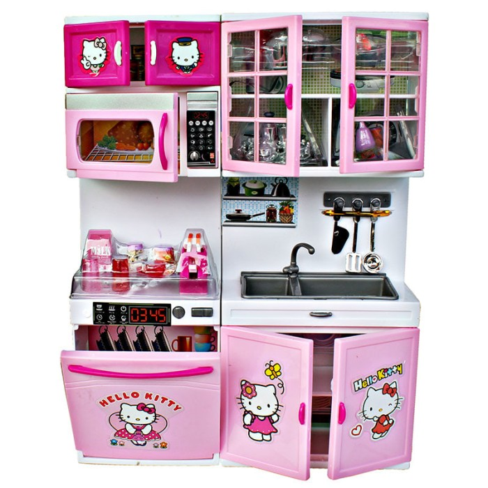 Jual Modern Kitchen Set Hello Kitty Jumbo Terlaris Mainanologi
