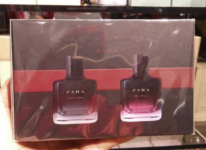 ... Parfum Zara Original Black Amber Red Vanilla EDT 100ml