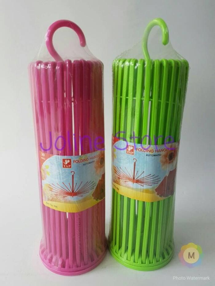 harga Folding hanger 30 sticks / gantungan baju / gantungan jemuran Tokopedia.com