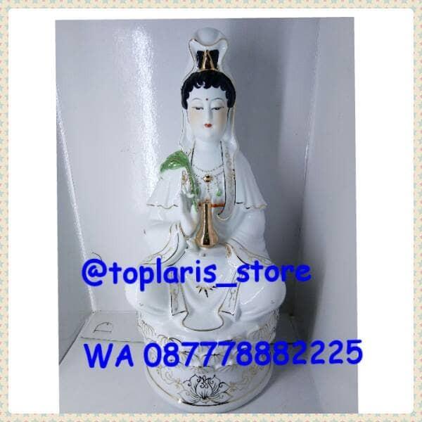 harga Patung rupang dewi kwan im keramik 10in Tokopedia.com