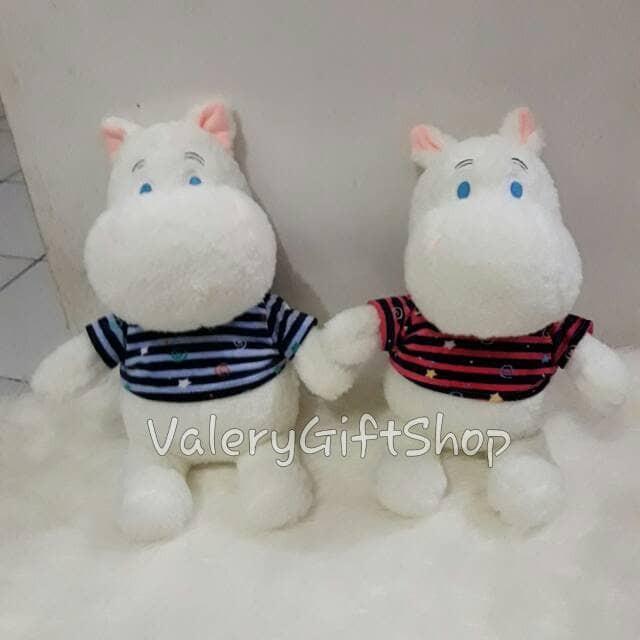 Jual Boneka Moomin Hippo putih Korea Park boom 2ne1 Exo Import ... 515df714b8