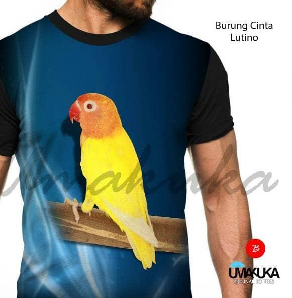 harga Kaos full print umakuka - burung cinta lutino Tokopedia.com