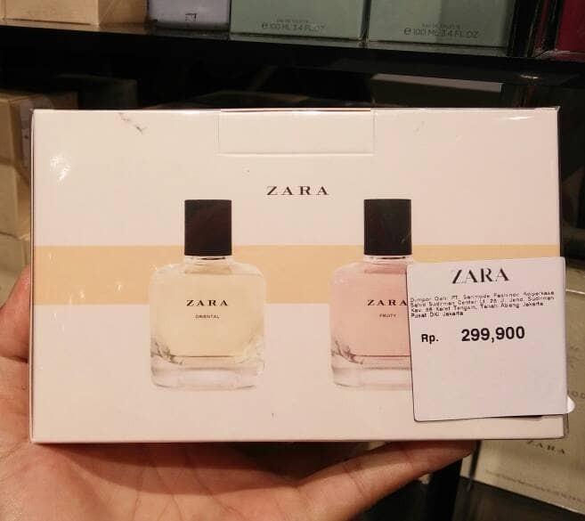 Parfum Zara Original Oriental Fruity EDT 100ml
