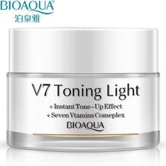 Bioaqua V7 Cream Toning Light Perfected Whitening 50g - Blanja.com