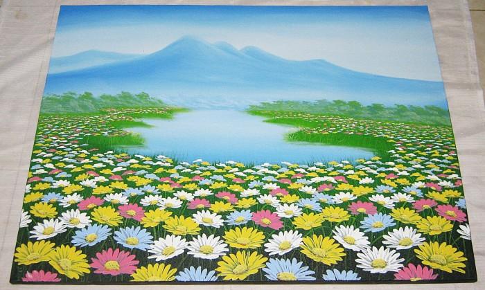 Download 99 Background Pemandangan Bunga Terbaik