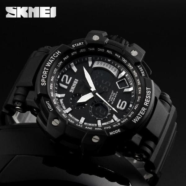 NEW ARRIVAL Jam Tangan Pria - SKMEI Casio Men Sport LED Watch Water