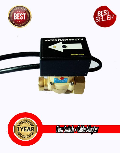 harga Flow switch (otomatis booster)+ cable adapter Tokopedia.com