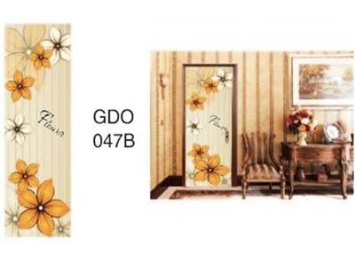 harga Sticker pintu 80cmx215cm gdo047b orange flower Tokopedia.com