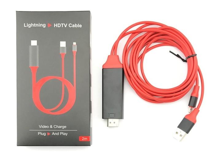 harga Lightning to hdmi digital tv av lcd kabel iphone ipad mini Tokopedia.com