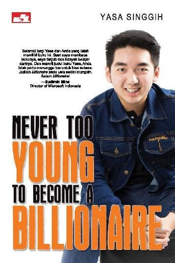 harga Baru buku never too young to become a billionaire .yasa paramita s Tokopedia.com
