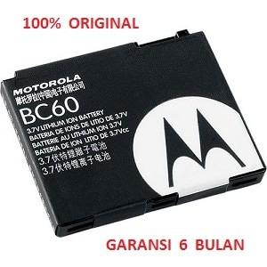 100% original motorola battery bc60 / l2,l7 slvr,l7c,v3x,z3 rizr,i890