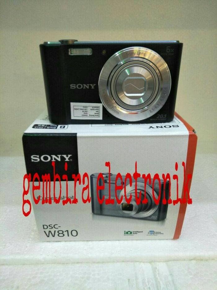 harga Kamera digital pocket sony dsc-w810 20.1mp garansi resmi Tokopedia.com