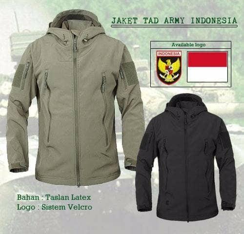 Jaket Waterproof Softshell Tad/jaket Bravo/jaket Tni/jaket Tad