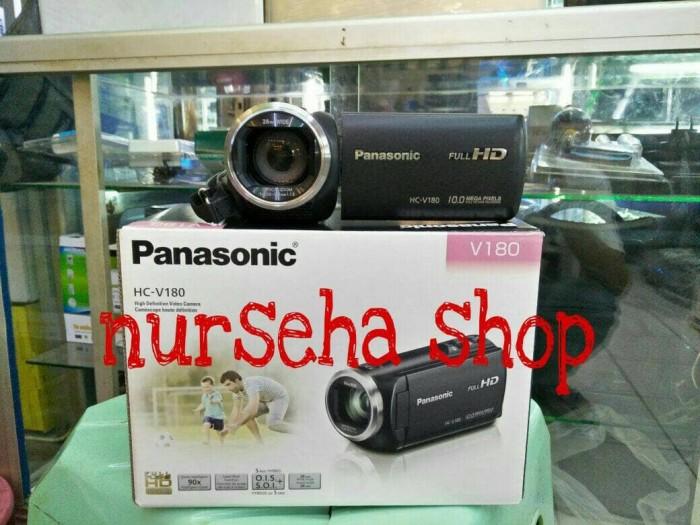 harga Handycam kamera panasonic hc-v180 full hd garansi resmi Tokopedia.com